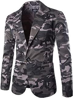 Fashion Autumn Winter Cardigan Men Camouflage Jacket Long Sleeve Coat Top