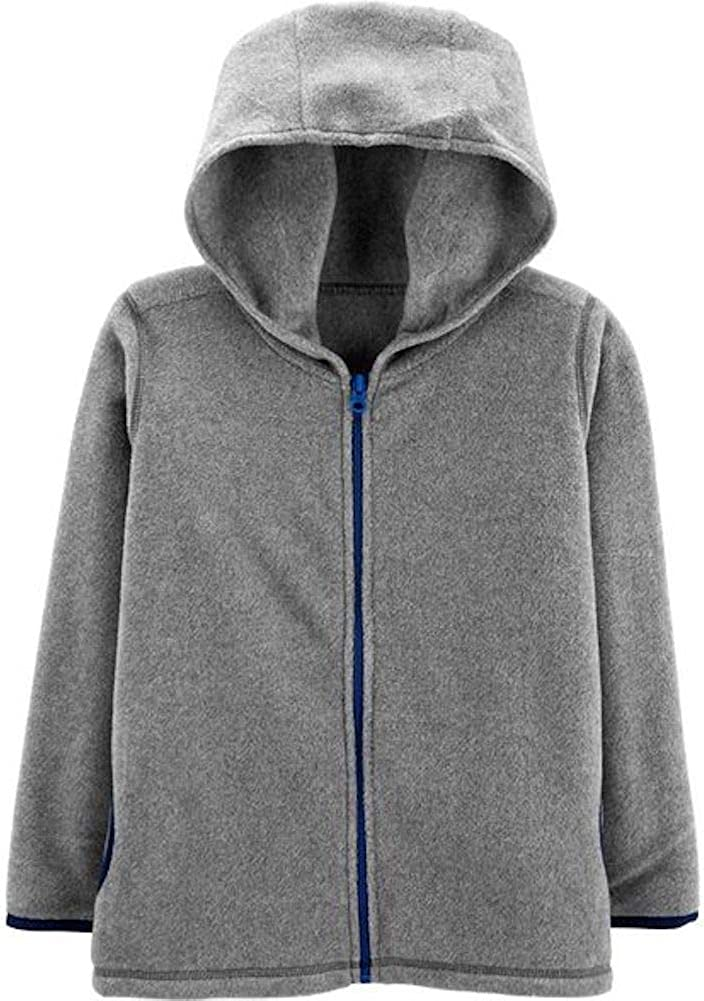 Carters Little Boys Zip-Up Hoodie