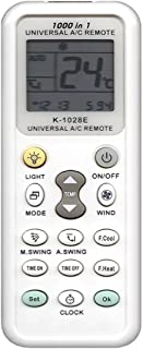 520012 K-1028E Universal Remote for Air Conditioner, Supports 1,000 Types of Common A/Cs, Instruction Manual Written in Japanese Attached, Equipped with Auto Search Functionality.