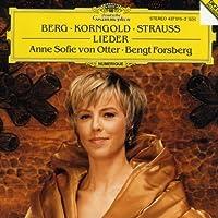 Anne Sofie von Otter: Love's Twilight - Late Romantic Songs by Berg, Korngold, Strauss by Anne Sofie von Otter (2002-11-21)