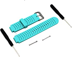 MOTONG Garmin Replacement Wrist Watch Band - MOTONG Silicone Repalcement Band for Garmin Forerunner 235 620 735XT 220,Come with Tool Kit(Silicone Mint Green)