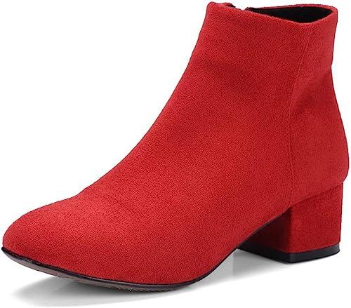 1TO9 MNS03370, Sandales Sandales Compensées Femme - Rouge - rouge, 36.5  chaud