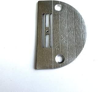 Placa de aguja #111859-0-01 (E18) para máquina de coser Brother Db2-B737 S-7000Dd