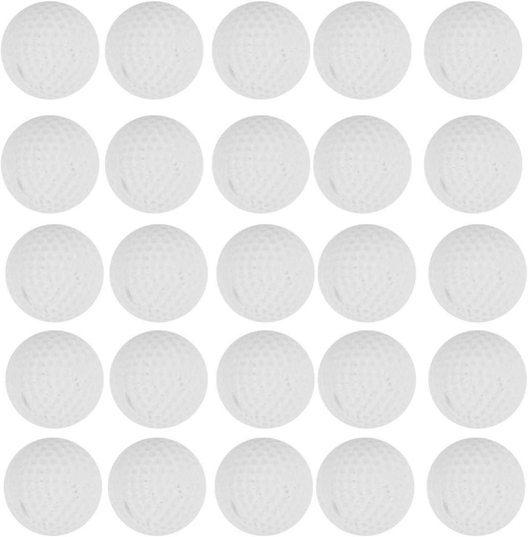 Tomantery Recambio Redondo, 100 Piezas de Bolas de Recambio, Ultraligero, Duradero, Suave, Material de Poliuretano de 0,9 Pulgadas para competición de Juegos, Pistola de Juguete para niños