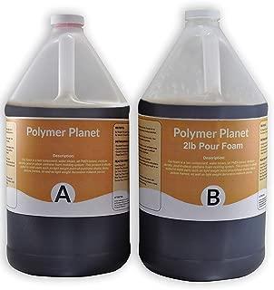 Liquid Urethane Closed Cell Rigid Pour Foam 2 Lb Density - 1 Gallon Kit Total