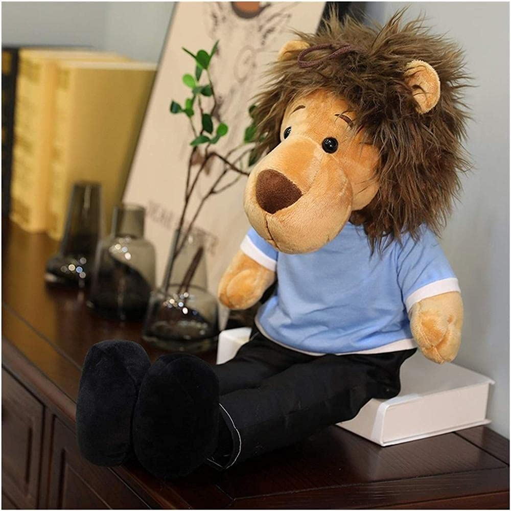 NC199 Plush Toy Doll Super beauty product Max 52% OFF restock quality top Lion Animal King Keychain Stuffed Pend