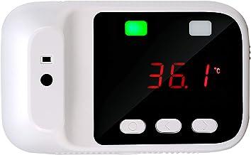 Contactloze infraroodthermometer met koortsalarm, automatische lichaamsinductie met twee schermen Voorhoofdthermometer voo...