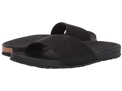 Sperry Shell Slide (Black) Women