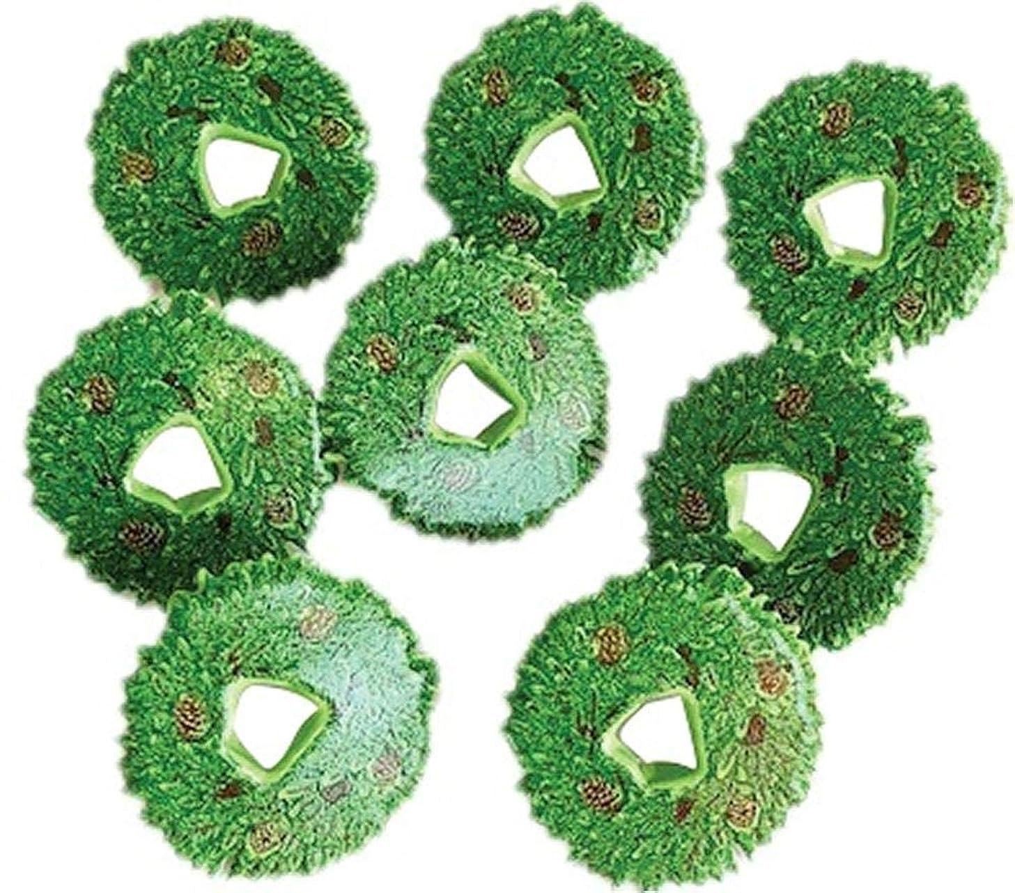 Eyelet Outlet QBRD2-157 Shape Brads 12/Pkg-Wreath