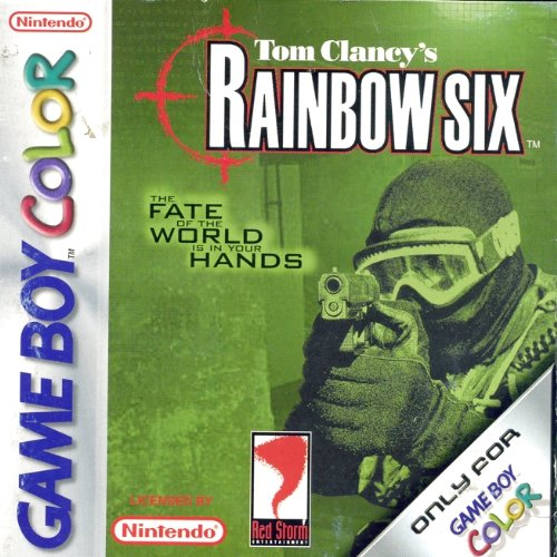 Rainbow six the fate of the world in your hands - Game Boy Color - PAL