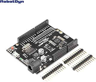 RobotDyn - WeMos D1 R2, WiFi D1 R2 Integration of ESP8266 + 32Mb Flash, Form-Factor for Arduino Uno R3
