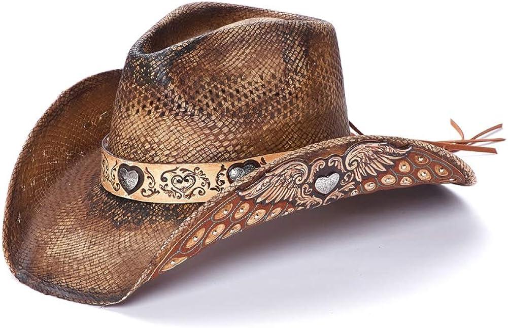 Stampede Hats Women's Sweet Heart Superlatite Wi Hat with Western Popular popular