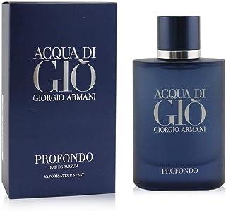 GIORGIO ARMANI ACQUA DI GIO Profondo Eau DE Parfum 75ML VAPORIZADOR Unisex Adulto Negro Único