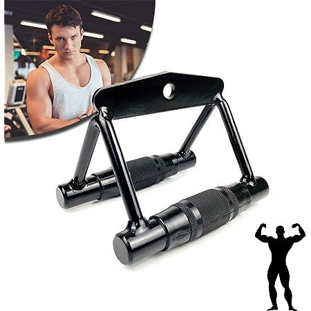 Heavy Duty Multi Gym Cable Machine Attachment Stirrup Handle Bar Resistance Gym