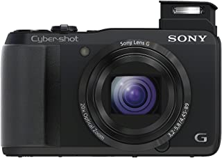 Sony Cyber-shot DSC-HX20V 18.2 MP Exmor R CMOS Digital Camera with 20x Optical Zoom and 3.0-inch LCD (Black) (2012 Model)