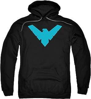 Batman DC Comics Nightwing Symbol Adult Pull-Over Hoodie