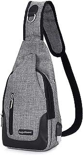 ボディバッグ ワンショルダーバッグ メンズ 斜めがけ 撥水加工 iPad mini 収納 左右肩がけ対応 ボディバッグ USBポート 付き