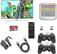 $120 » Gamebound Super Console X Pro HDMI TV Retro Videogame Player, Built-in 41,000 + Games,2 Wireless Gamepads (PRO-128G)