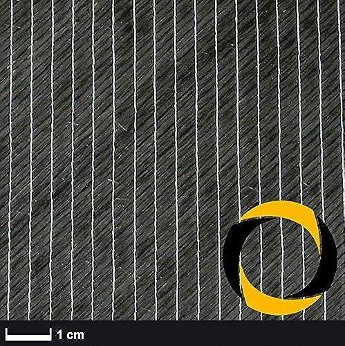 Ascending Composites Kohlegelege 600 g m2 (biaxial, 24k) 127 cm 1 m