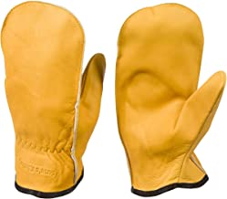 Chopper Mittens, Top Grain Cowhide, Unlined Pair of Mitts, Sizes for Teens, Women and Men