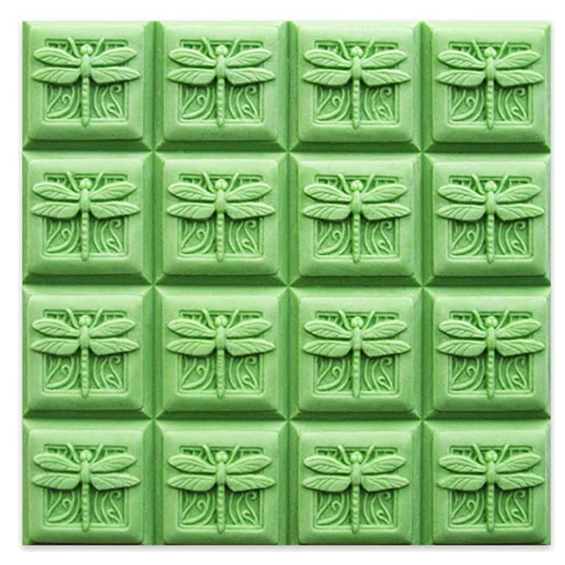 Milky Way Dragonfly Guest Soap Mold Tray - Melt and Pour - Cold Process - Clear PVC - Not Silicone - MW 261