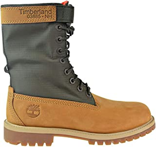 "Timberland 6"" Gaiter Boot Big Kids' Shoes Wheat tb0a1vfz"