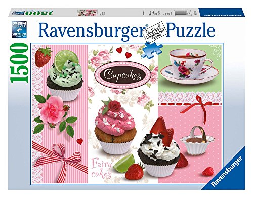 Ravensburger 16274 - Puzzle (1500 Piezas), diseño de Cupcakes