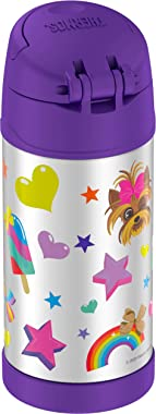 THERMOS FUNTAINER 12 Ounce Stainless Steel Kids Bottle, JoJo Siwa