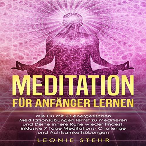 Meditation für Anfänger lernen Titelbild