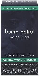 Bump Patrol Everyday Skin Moisturizer - Aloe Vera, Vitamin E, Chamomile Guards Against Razor Bumps, Ingrown Hairs - 1.69 Ounces