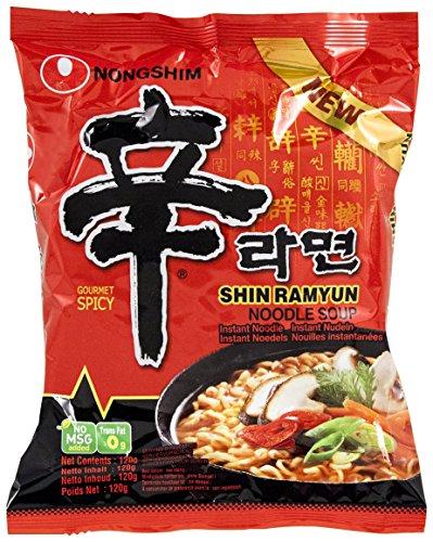 Nong Shim Nouilles Instantanées Shin Ramyun 120 g - Pack de...