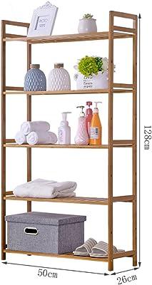 Zapatero de madera maciza Bastidor de almacenamiento de bambú dormitorio simple estante de almacenamiento de estantes