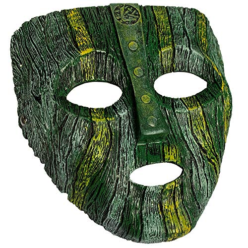 Jim Carrey The Mask Deluxe Loki Latex Mask Halloween Fancy Dress Costume Green