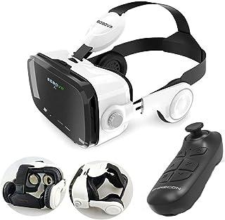 XGVRYG Gafas 3D VR, Auriculares de Realidad Virtual, Alcance Virtual más Ligero para películas y Juegos en 3D compatibles ...