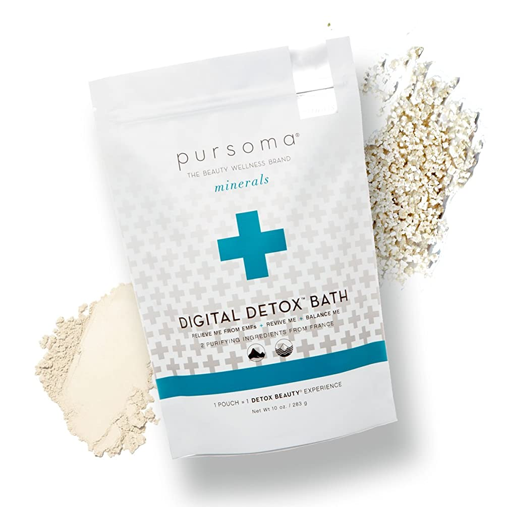 Pursoma - Organic/Raw/Vegan Digital Detox Bath (Pack of 2)