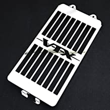 Motorparty Radiator Grill Cover Water Tank Grille Guard Protector For Honda VTX 1300 C R S T 2003-2009 2008 2007 2006 2005 2004,Stainless Steel,VTX Pattern