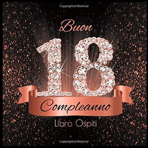 Libro Ospiti: Buon Compleanno 18 Anni I Congratulazioni e Pensieri Felici I...