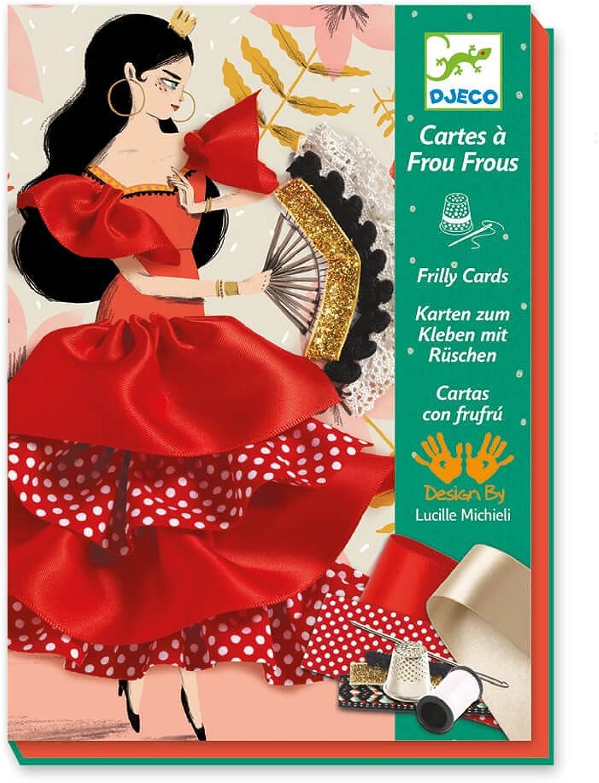 Djeco - Kreativ Set Nähbilder Flamenco mit Zubehör B01MTJHNUH | Um Sowohl Die Qualität Der Zähigkeit Und Härte