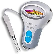 RISEPRO Chlorine Tester, CL2 Chlorine & pH Tester Swimming Pool Spa Water Quality Analysis PC-102B