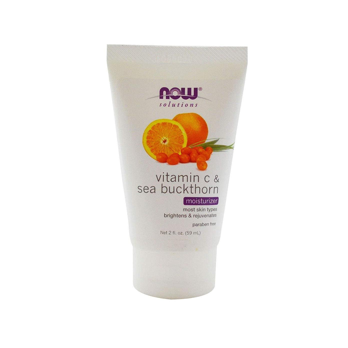 午後ファランクス森林海外直送品 Now Foods Vitamin C & Sea Buckthorn Moisturizer, 2 oz