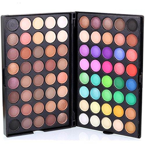 Xmansky Funkeln Schimmernd Farben Lidschatten Metallisch Profi Auge Kosmetik (80 Farbe)