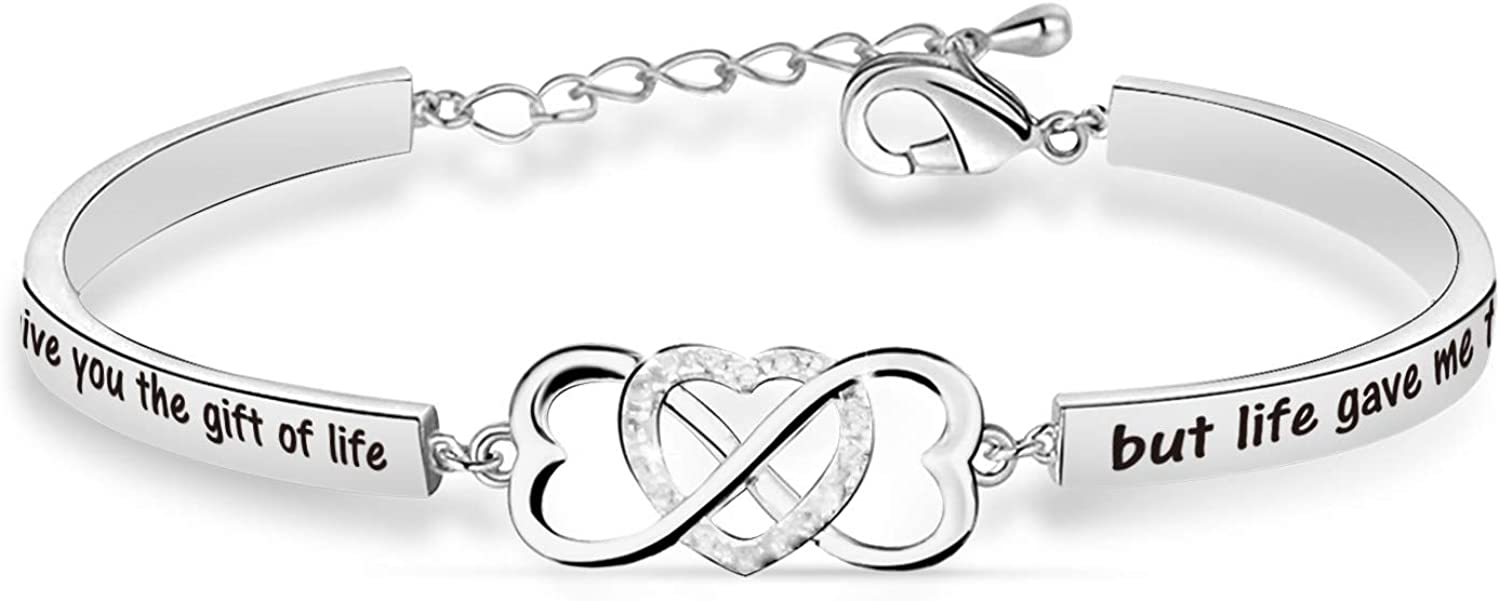 Stepdaughter Bracelet I Didn't Give You of Life Gift But The Lif Selling New arrival