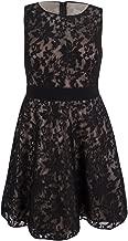 Xscape Women's Plus Size Lace Fit & Flare Dress (6, Blush)