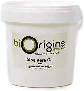 Biorigins Aloe Vera Gel Skincare Base 1Kg