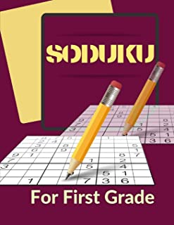 Soduku For First Grade: Suduko Paperback Portable, Puzzles Of Beginner Level Good Practice For A Starter! EASY LEVEL, Sadu...