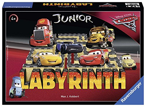 Ravensburger 21273 - Disney/Pixar Cars 3 Junior labyrinth kinderspel
