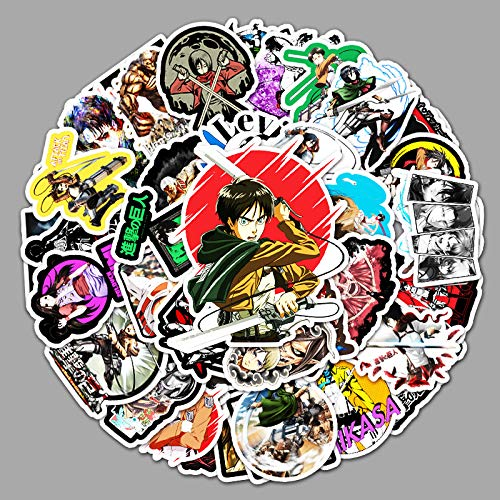 ZNMSB 51 Anime Attack Giant Graffiti Stickers Laptop Scooter Car Trunk Decoración Pegatinas