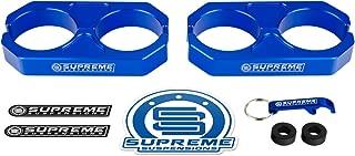 Supreme Suspensions - Blue Universal Billet T6 Aluminum Coilover Reservoir Brackets