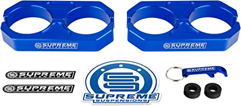Supreme Suspensions - Blue Universal Billet T6 Aluminum Coilover Reservoir Brackets