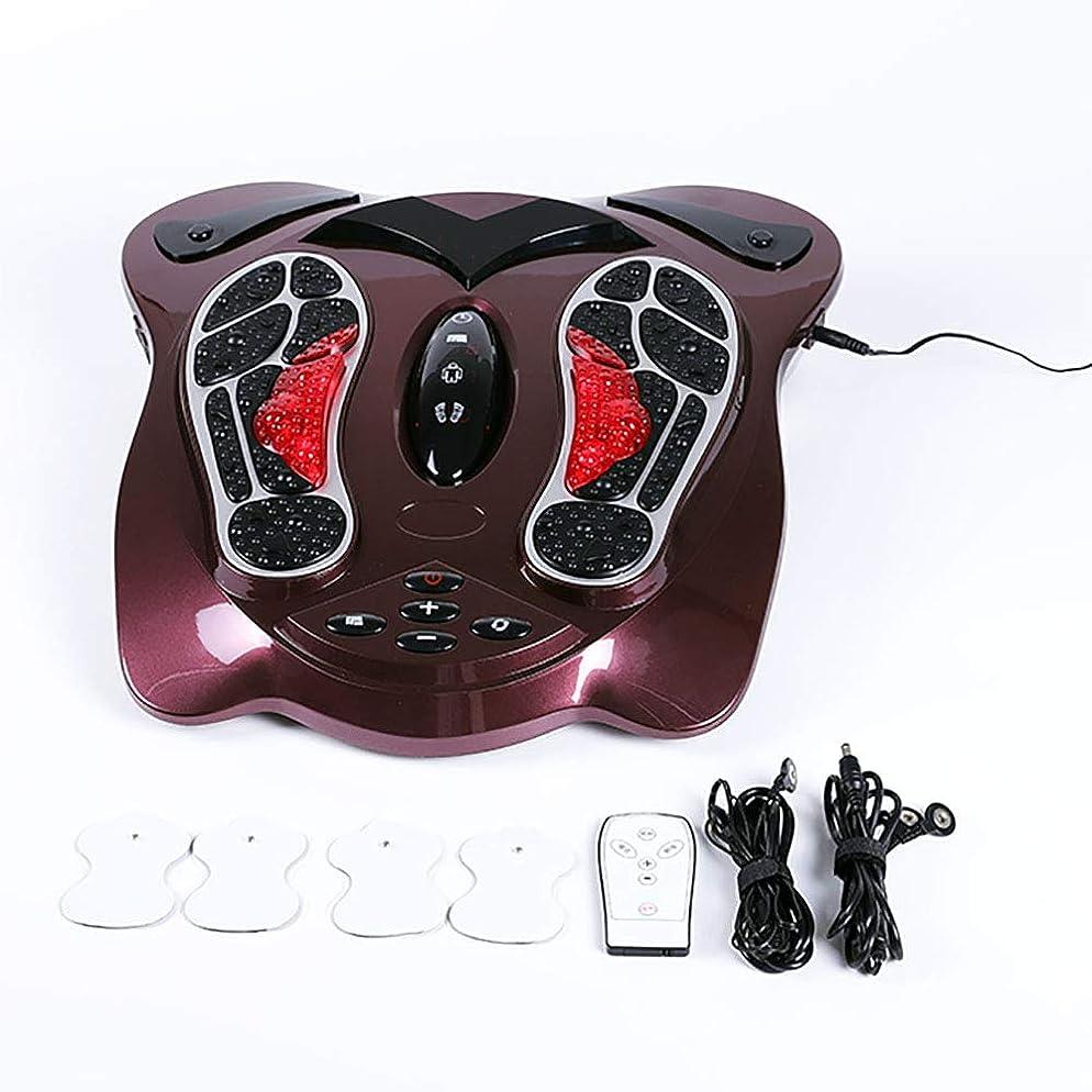 追い払う輝く滑り台足マッサージ機EMS電気筋肉刺激装置電気マッサージ療法リラックス治療装置用ふくらはぎ脚血循環と足底筋膜炎
